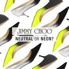 The new Jimmy Choo monochrome shoes!
