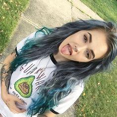Scene Hair — billiedawningle more hairstyles on ig. Billie Dawn Webb, Hair Inspo, Hair Inspiration, Punk, Sublime Creature, Color Fantasia, Asymmetrical Hairstyles, Hair Color Dark, Scene Hair