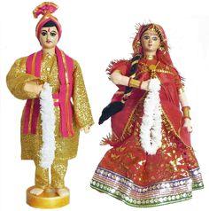 Marwari Bride and Bridegroom (Cloth)