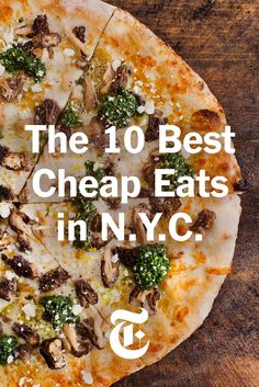 The New York Times food columnist Ligaya Mishan rounded up the 10 best places to eat for cheap in New York City. (Photo: Kyle Johnson for The New York Times)