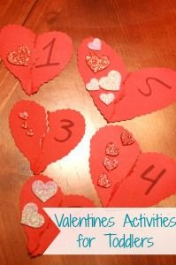 Valentines Activities and crafts for kids