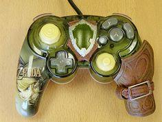 Want! Zelda controller.