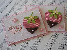 Chocolate Strawberry Embellishments