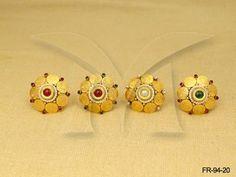 FR-94-20 || Manekratna Laxmi Coin Finger Ring