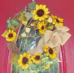 Sun Flower Wreath