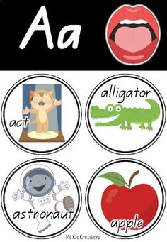 Alphabet Posters - Speech Sound Clipart Alphabet Posters, Lower Case Letters, Image Shows, Phonics, Clip Art, Lettering, Words, How To Make, Drawing Letters