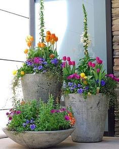 Beautiful arrangement for spring