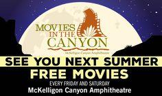 Movies in the Canyon - El Paso Live   El Paso Convention and Performing Arts Centers   El Paso Events