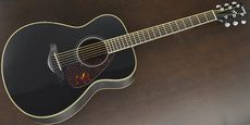 YAMAHA / FS720S BL Acoustic Guitar Free Shipping! δ