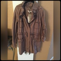 GORGEOUS TRENCH JACKET NEVER WORN... Tags still attached. LOFT Jackets & Coats Trench Coats