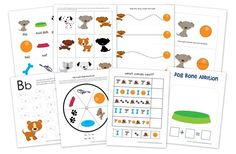 C is for Cats and D is for Dogs Dogs & Cats Preschool Printable Packs...plus more--great website!