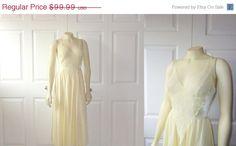 ~1970's Vintage Nightgown Olga RARE by 2sweet4wordsVintage, $69.99