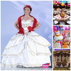 Fiesta Quinceanera Theme Party | Mexican Theme Party | Quinceanera Ideas |