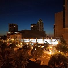 The gorgeous view from Fado's  rooftop in Buckhead.