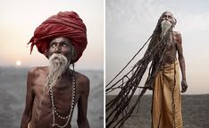 Lal Baba has dreadlocks (jatas) several meters long, which have been growing for over 40 years. To sadhus, dreadlocks are a sign of renunciation and a life dedicated to spirituality. Varanasi, India ... joeyl.com