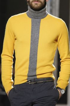 Product ID brand name carbonhot gender male Collar Boss season autumn,winter,spring Material Knitted fabric Pattern type Color matching Sleeve Length Long sleeve style fashion Size S M L XL Bust (inch) Length (inch) Shoulder width (inch) 16 Mens Fashion Blog, Fashion Moda, Latest Fashion Clothes, Look Fashion, Fashion Show, Autumn Fashion, Fashion Outfits, Mens Turtleneck, Men Sweater