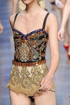 Dolce & Gabbana spring 2012 rtw details