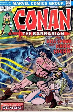 Cover for Conan the Barbarian (Marvel, 1970 series) #35