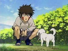 kiba and akamaru | Anime Picture Collections: Akamaru and Kiba wallpaper