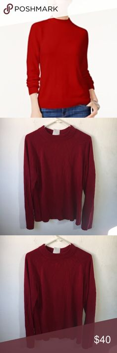 Karen Scott Red Back Zippered Sweater Size XL Karen Scott Red Back Zippered Sweater Size XL, brand new with tags. Perfect for the holidays Karen Scott Sweaters