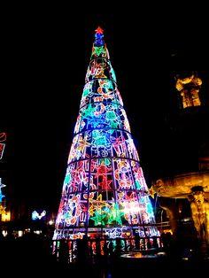 Plaza Bib-Rambla. Navidad 2012. #Granada