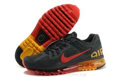 official photos 513bf 97927 Hommes Nike Air Max 2013 Dark Charcoal Chilling Rouge Laser Orange  Chaussures 554886-068 Nike