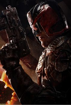 Judge Dredd by Dave Rapoza