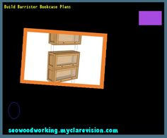 Build Barrister Bookcase Plans 104040 - Woodworking Plans and Projects!