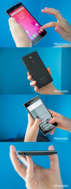 The OnePlus One smartphone.