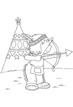 indian coloring pages american indiansnative