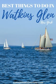 Check out this guide for the best things to do in Watkins Glen, New York including beautiful waterfalls and lake side wineries | Things to do in New York State | Finger Lakes | New York Waterfalls | Wine Travel | NY Nature