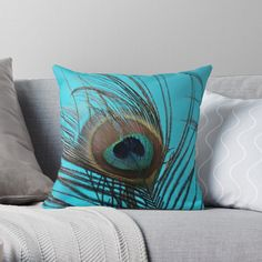 Framed Prints, Canvas Prints, Art Prints, Peacock, Feather, Throw Pillows, Printed, Awesome, Shop