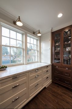 Mixing kitchen cabinet hardware finishes. How to mix kitchen cabinet hardware finishes. Kitchen cabinet hardware can be different from the island or buffet style cabinet like we see here, but their finish need to complement each other. Northstar Builders, Inc