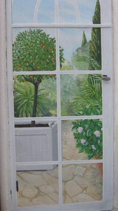 Plus de 1000 id es propos de trompe l 39 oeil sur pinterest for Peinture sur fenetre