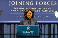 First Lady Michelle Obama Hosts a Joining Forces Event Celebrating the Commitment to Hire Veterans in the Construction Industry