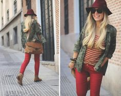 Stripes Military (by Priscila My Showroom) http://lookbook.nu/look/4186116-Stripes-Military
