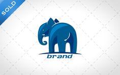 Modern Elephant Logo For Sale - Lobotz