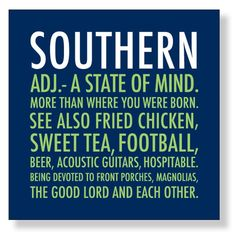 20ct Southern Beverage Napkins - Click image to Purchase!