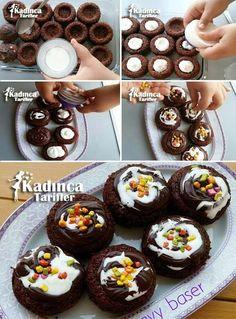 Porsiyonluk Ağlayan Pasta Tarifi Kadincatarifler.com - En Nefis Yemek Tarifleri Sitesi - Oktay Usta