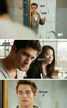 Teen Wolf moments #WolfiesFun Lim Dunbar and Scott McCall ! #TeenWolf #Scottmccall #LiamDunbar