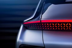 Present-day representation of tomorrow's premium electric vehicle. Grid Design, Bike Design, Ramp Design, Form Design, Faraday Future, Upcoming Cars, Nissan Leaf, Automotive Design, Automotive Detailing