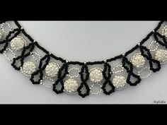 How to make beaded collar Feast - YouTube