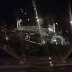 Alcazar de Segovia dentro de una bombilla