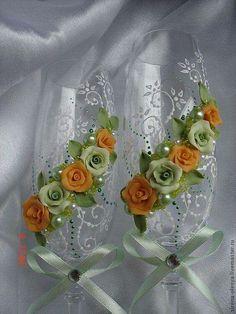 Ideas de  copas para brindar  en casamentos .