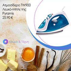 Ατμοσίδερα #Pyramis ...και το σιδέρωμα έγινε παιχνιδάκι!  💻www.chroma-kai-texni.gr ☎️2310649959 📍Μάνου Κατράκη 16, #Πολίχνη  #chromakaitexni #eshop #μικροσυσκεύες #ατμοσίδερο Home Appliances, Iron, House Appliances, Appliances, Steel