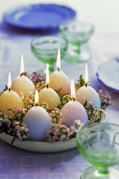 15 идей декора пасхального стола   Sweet home