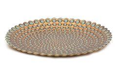 Pearl Plate, Antique Copper on OneKingsLane.com - plate wall