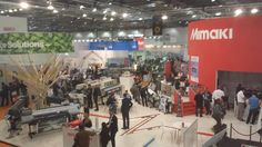 The #Fespa2013 floor is looking busy on our 4th day, there is still time to visit your destination for #print today!