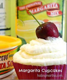 Margarita cupcakes that are too amazing!!!