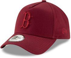Boston Red Sox New Era Leaue Essential A-Frame Baseball Cap - Cardinal cd94d982b3e
